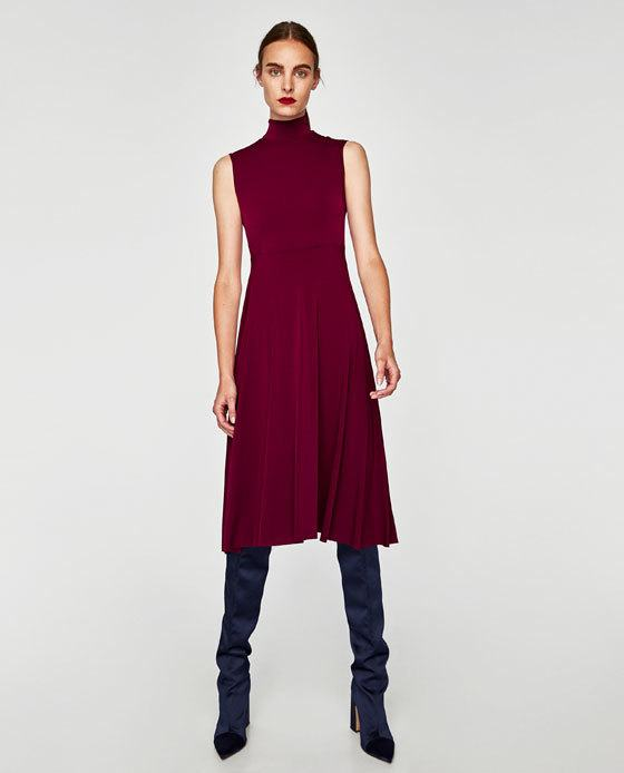adfa0cbb3 Otra opción muy femenina que nos propone Zara y por qué no decirlo sexy
