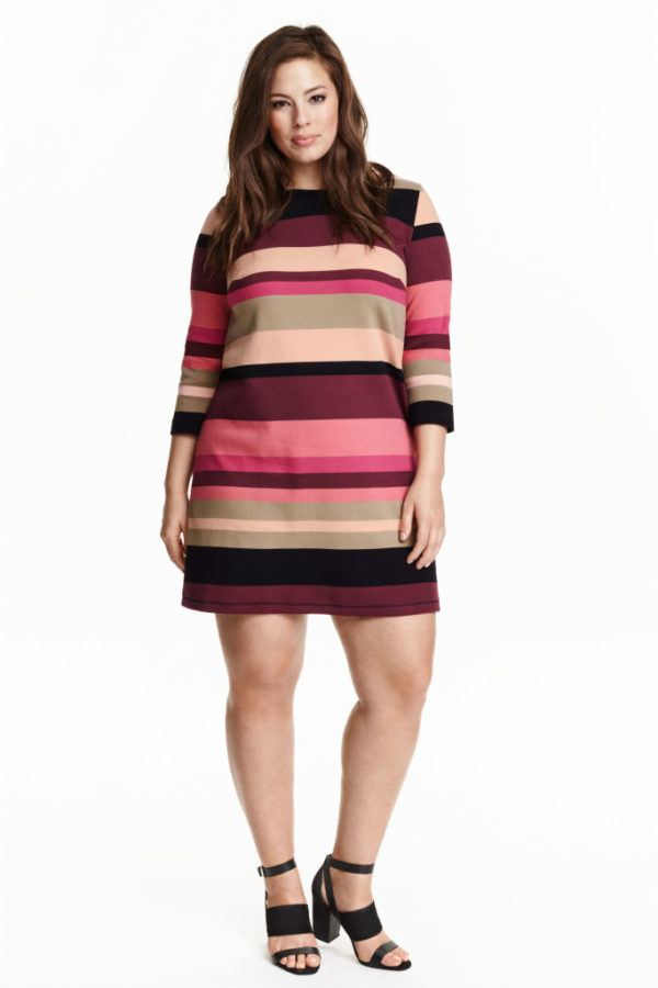 vestidos-gorditas-primavera-verano-2016-hm-franjas-horizontales