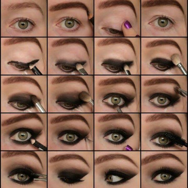 Cmo maquillarse los ojos paso a paso ModaEllascom