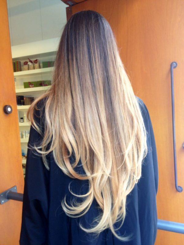 mechas-californianas-degradadas-pelo-largo