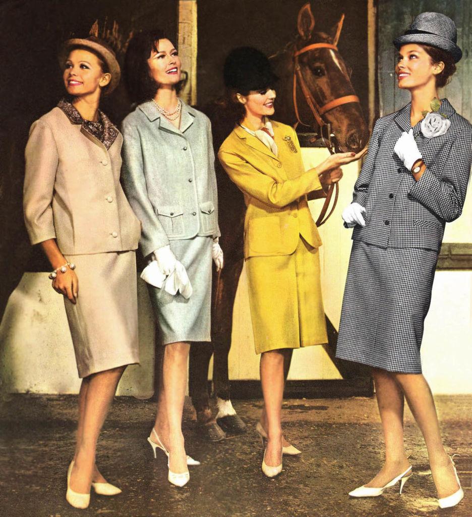 La moda de los a os 60 caracter sticas ropa peinados y - Estilismo anos 70 ...