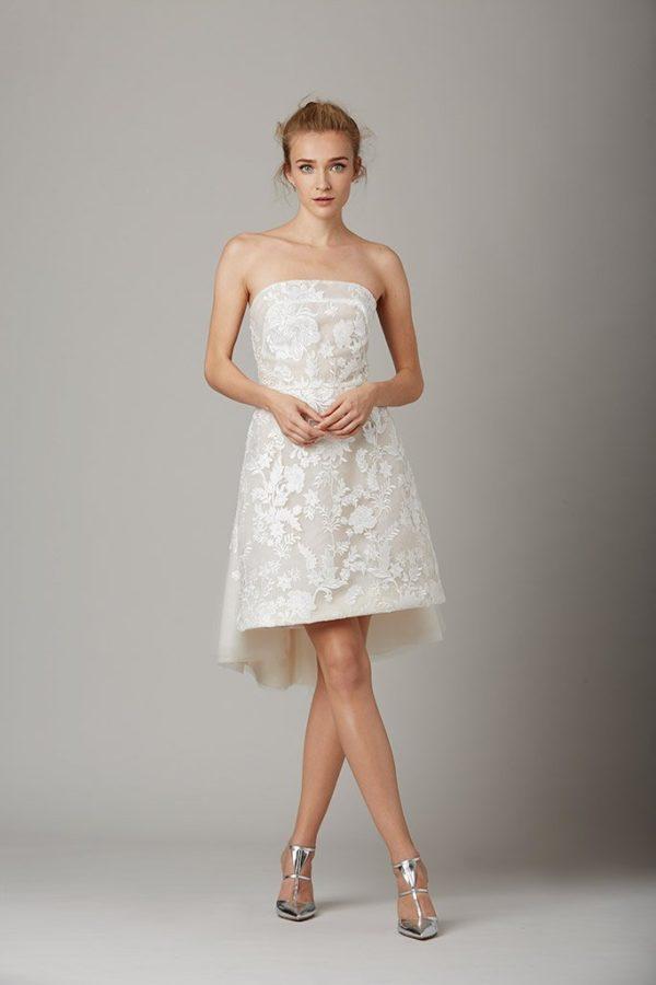 los vestidos de novia cortos para 2019 - modaellas