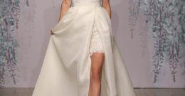 Los vestidos de novia cortos para 2018