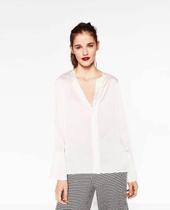 camisas-mujer-otono-invierno-2016-2017-tendencias-color-blanco-satinado