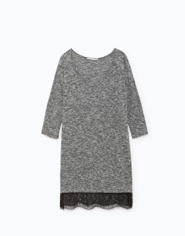 catalogo-lefties-para-mujer-otono-invierno-2016-2017-vestido-encaje