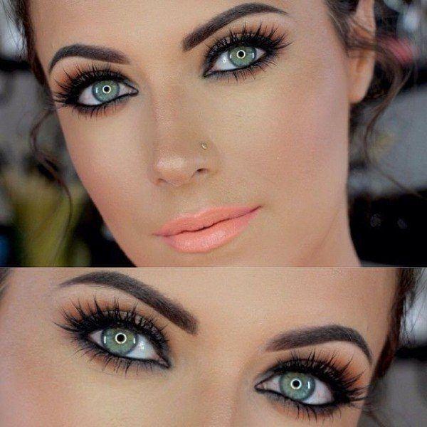 como-maquillar-unos-ojos-verdes