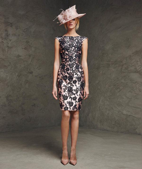 vestidos-de-madrina-2016-pronovias-vestido-corto-lacina