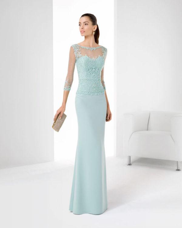 Sonar con un vestido de novia verde