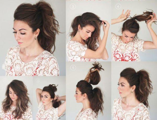 peinados-faciles-paso-paso-coleta-doble
