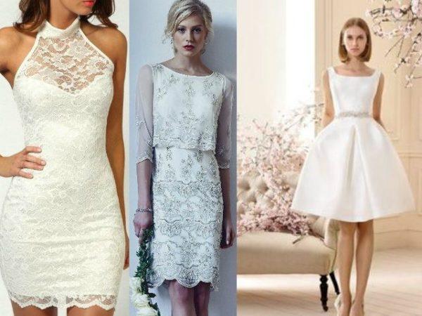 Vestidos de novia para boda civil 2018 - ModaEllas.com