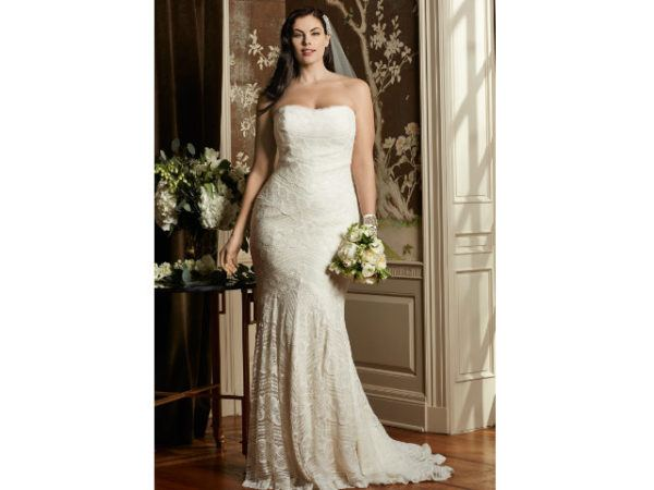Como hacer vestidos de novias para gorditas