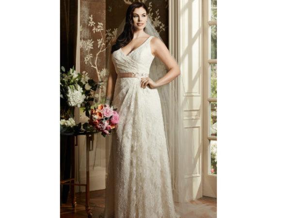 las fotos de vestidos de novia para gorditas 2019 - modaellas