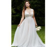 Las fotos de vestidos de novia para gorditas Primavera Verano 2017