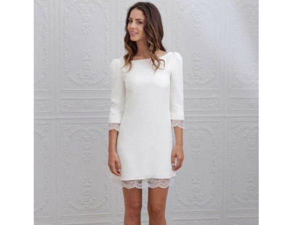 vestido-de-novia-sencillos-corto-boda-civil-2016-puntilla