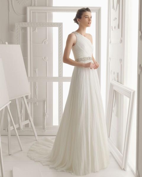 Vestido novia boda civil informal