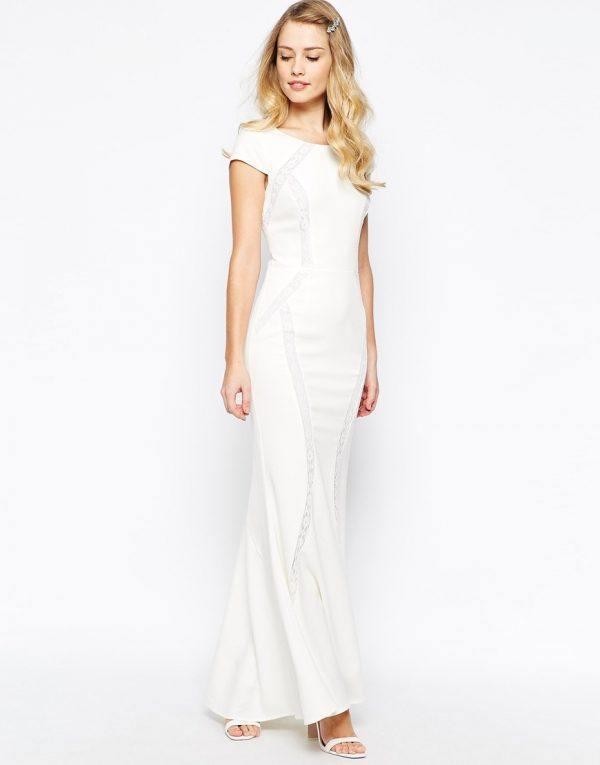 00fac34df3543 Vestidos de novia para boda civil Primavera Verano 2019 - ModaEllas.com