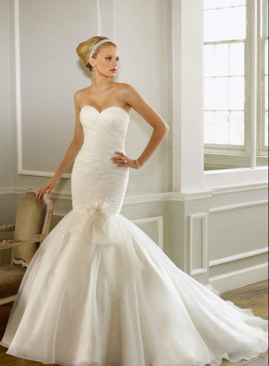 Como hacer vestido de novia de tul