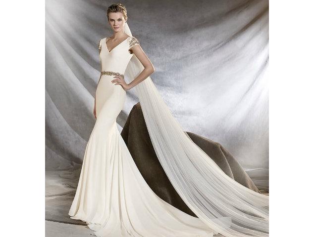 Vestidos de novia corte sirena 2019 - ModaEllas.com