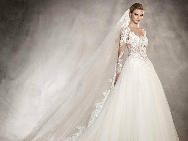 ea6c97902e742 Vestidos de novia manga larga Primavera Verano 2019 - ModaEllas.com