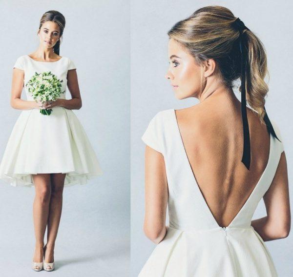 vestidos-de-novia-sencillos-corto