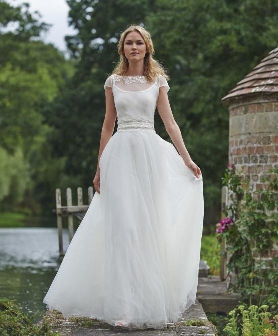 vestidos-de-novia-sencillos-gasa
