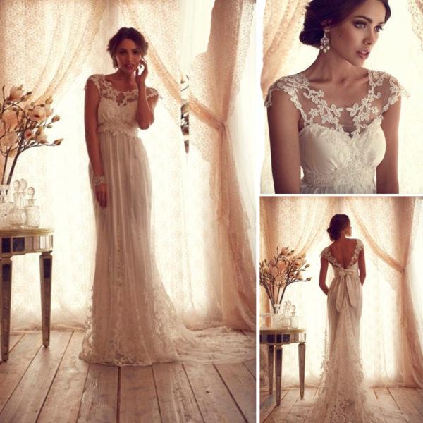 Vestidos de novia vintage 2016