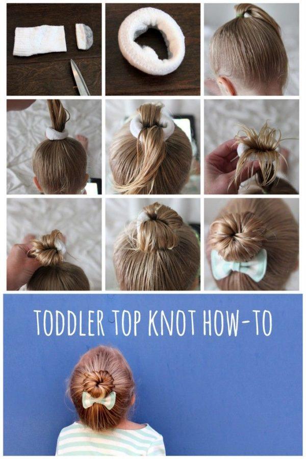 como-hacer-moños-faciles-a-una-niña-top-knot
