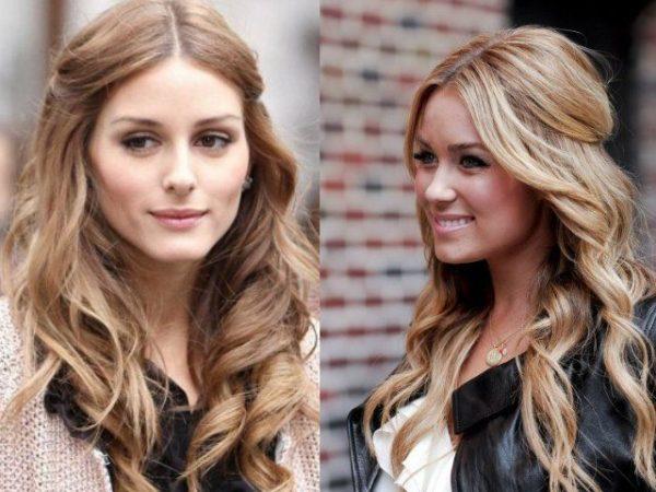 peinados-con-ondas-pelo-largo-semirecogido