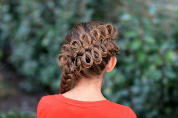 peinados-con-trenza-de-anudada