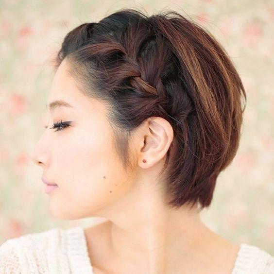 98a10240a peinados-con-trenzas-pelo-corto-trenza-lateral-pelo-. Para ...