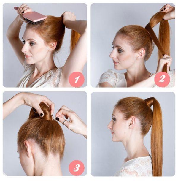 peinados-faciles-coleta-alta-tapando-goma