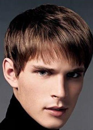 Corte de cabello hombre con flequillo