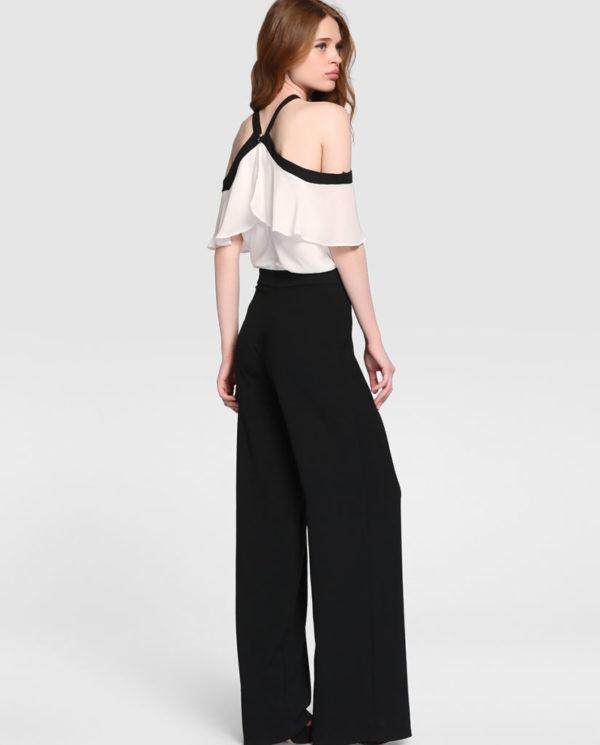 vestidos-de-comunion-el-corte-ingles-mono-bicolor-lazo-espalda