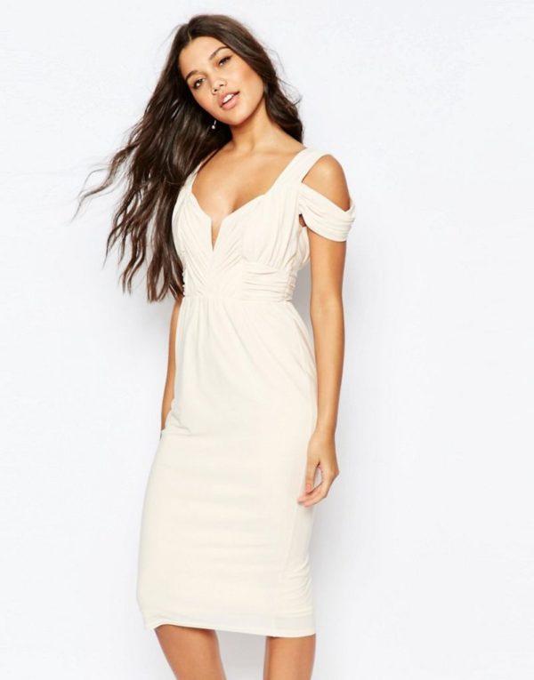 vestidos-de-comunion-para-madres-vestido-drapeado-beige