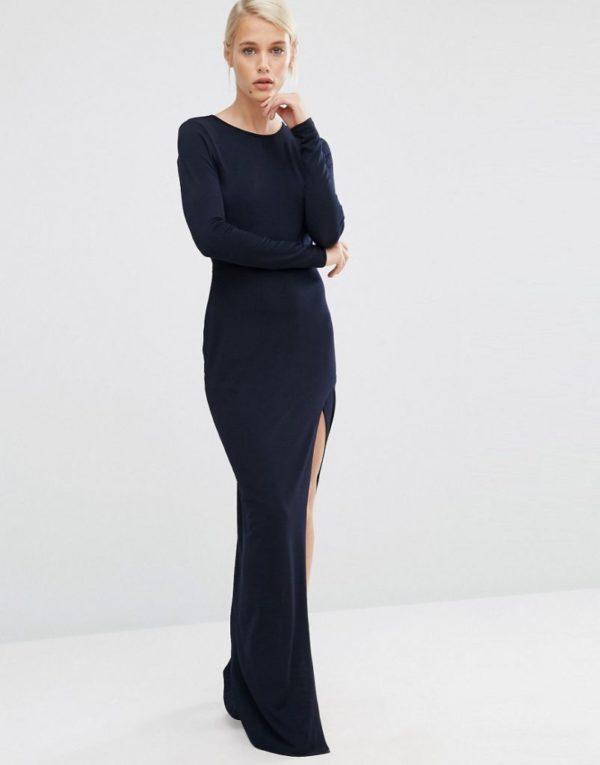 83af98f10 Los vestidos de fiesta largos para Primavera Verano 2019 - ModaEllas.com