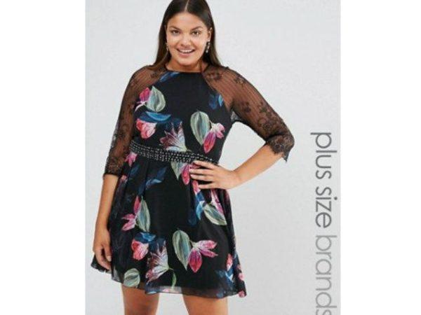 vestidos-de-fiesta-para-gorditas-negro-con-flores
