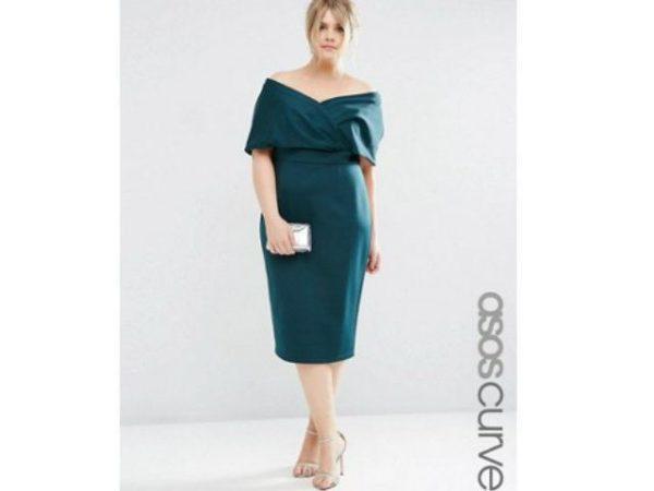 vestidos-de-fiesta-para-gorditas-verde-petoleo