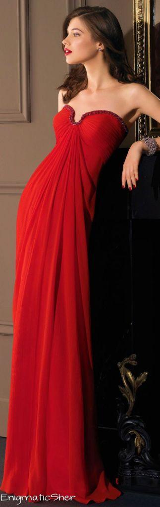 vestidos-de-fiesta-rojo-largo-corte-recto-gasa