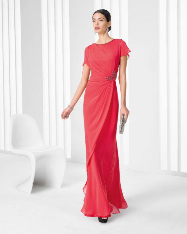 vestidos-de -fiesta-rojos-rosa-clara