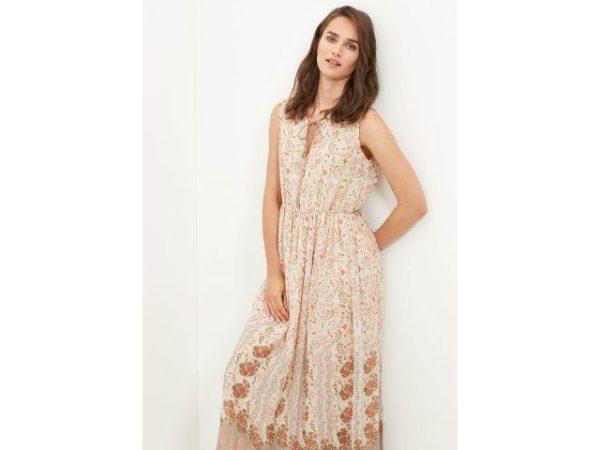 cortefiel-vestidos-2016-largo-estampado