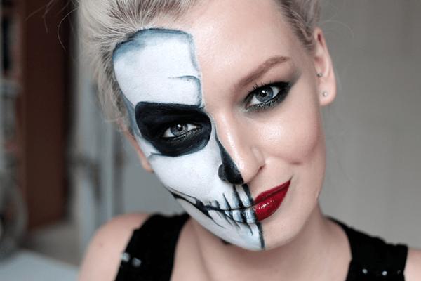 el-maquillaje-halloween-media-cara