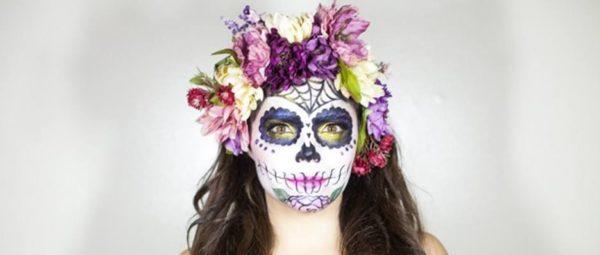 Make-up-catrina-halloween-how-do-step-by-step
