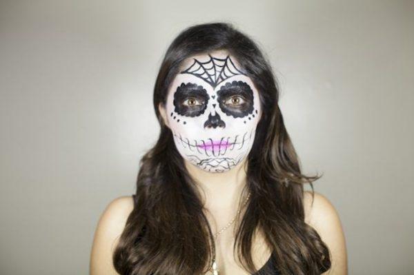 maquillaje-catrina-halloween-como-hacer-paso-a-paso-detalles-rostro