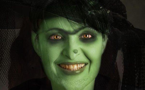 maquillaje-halloween-bruja-cara-verde