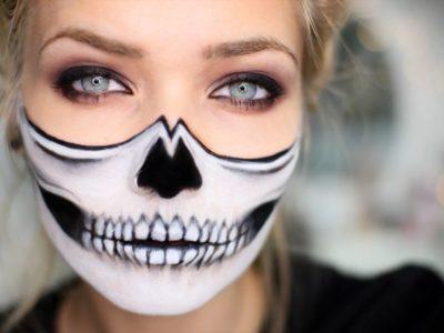 Maquillaje halloween calavera: fácil y rápido de hacer