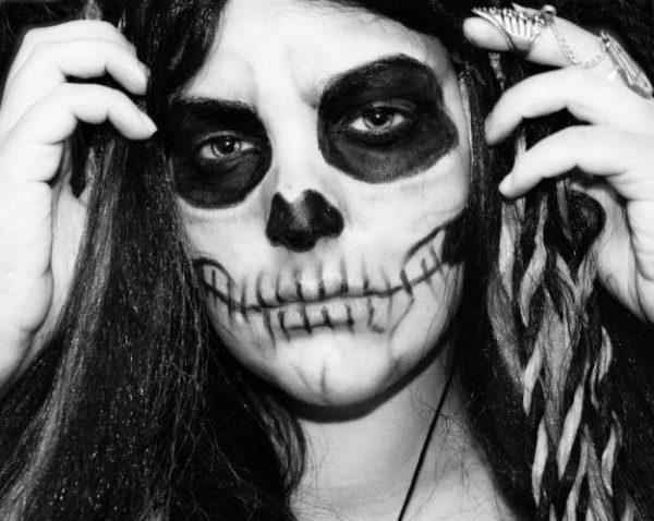 How to do an incredible Skeleton Makeup for Halloween step by step ...