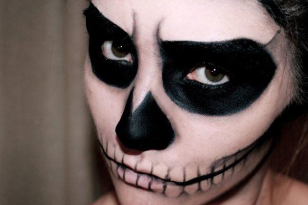 Makeup-halloween-skeleton-how-to