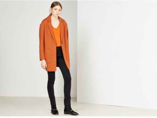 sfera-otoño-invierno-2017-abrigo-naranja