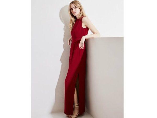 vestido-adolfo-dominguez-2016-largo-fiesta-burgundy