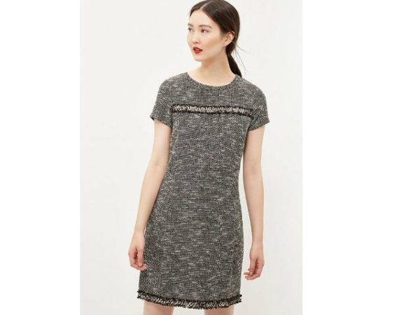 vestidos-cortefiel-manga-corta